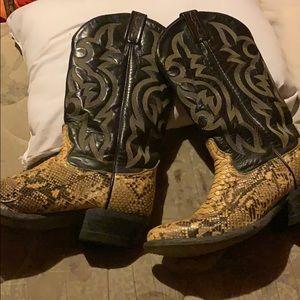 Tony Lama boots men's 8.5